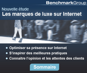 &eacute;tude luxe et internet benchmark group