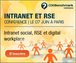 conference inrtanet social, RSE, digital workplace ccm benchmark