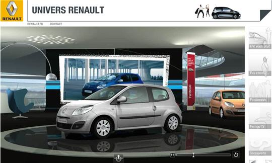 10 boutiques en ligne en 3d renault. Black Bedroom Furniture Sets. Home Design Ideas