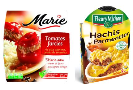 Plats cuisin s frais fleury michon contre marie for Plats cuisines marie