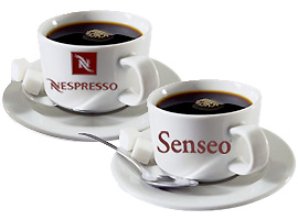 nespresso versus senseo. Black Bedroom Furniture Sets. Home Design Ideas