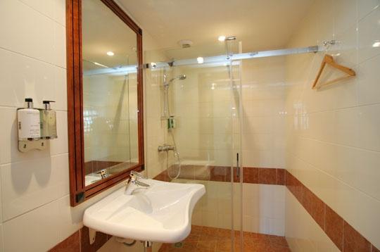 des douches pour patienter utile