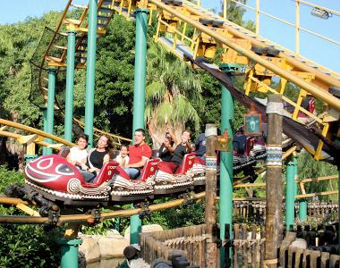 La fr quentation des parcs d 39 attractions en 2007 port - Parc d attraction espagne port aventura ...