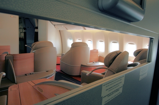 Plan int rieur du boeing 777 300 er for Interieur avion air canada