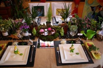 Une table pour la fête des Pères : \