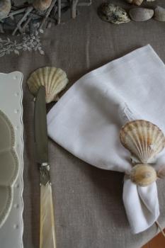 Une table style shabby bord de mer for Maison effet joule