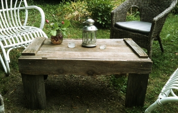 Fabriquer une table de jardin en totale r cup 39 - Fabriquer une table de jardin ...