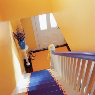 l 39 escalier change de look. Black Bedroom Furniture Sets. Home Design Ideas