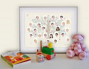 Id E Cadeau Ma Famille Illustr E Par M M Moustache