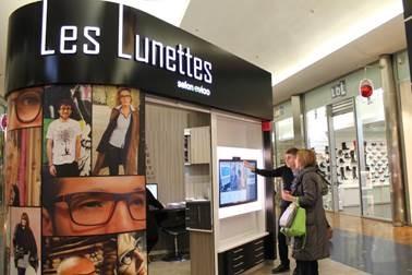Les innovations retail les plus marquantes du mois for Miroir virtuel krys