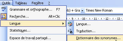 Trucs Et Astuces Pour Word Orthographe Et Synonymes