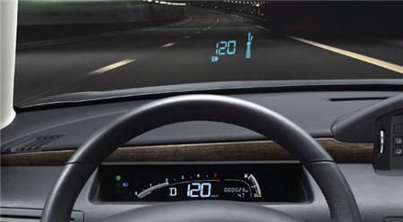 les nouveaux dispositifs d 39 aide la conduite l 39 affichage t te haute. Black Bedroom Furniture Sets. Home Design Ideas